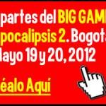 Big Game Paintball – Apocalipsis II, Bogotá 2012.